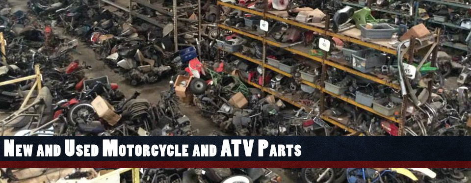 New & Used Motorcycle and ATV Parts
